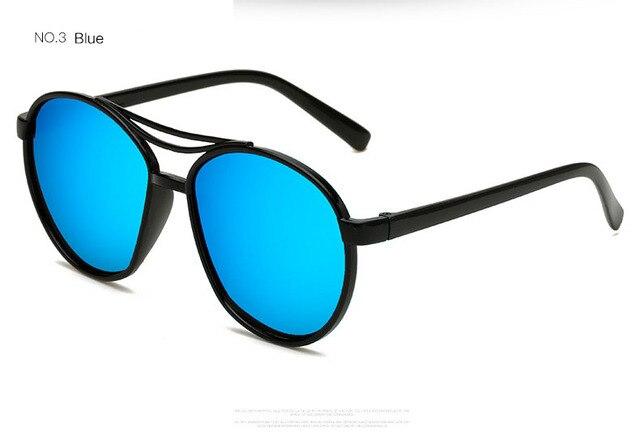 OFIR Trendy Fashion Sunglasses Cheap Color Film Men Women Double Beam Eyewear Multiple Colour anteojos de sol YF-82