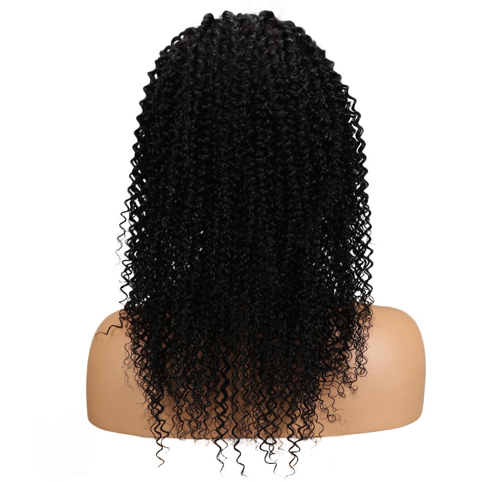 Sleek Curly 360 Frontal Human Hair Wigs For Black Women 10-24 Brazilian Remy Hair Natural Color Human Hair Wig Free Shipping