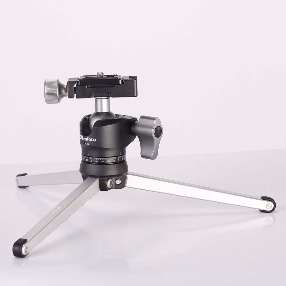 leofoto mini table tripod for camera desk stand stable tripod with ball head for dslrs. Black Bedroom Furniture Sets. Home Design Ideas