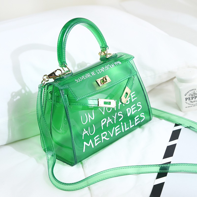 Buy letter transparent bag and get free shipping on AliExpress.com 7f0080aae5b9f