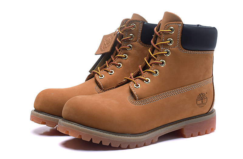TIMBERLAND Original Brand New Classic Men's Ankle Boots For Men Male Genuine Cow Leather Anti-Slip Premium 10061 High-Top Shoes 3