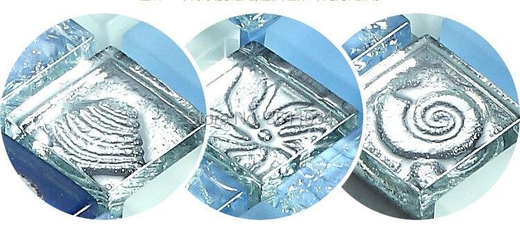 telhas de mosaico de cristal bar Mediterrâneo galvanoplastia