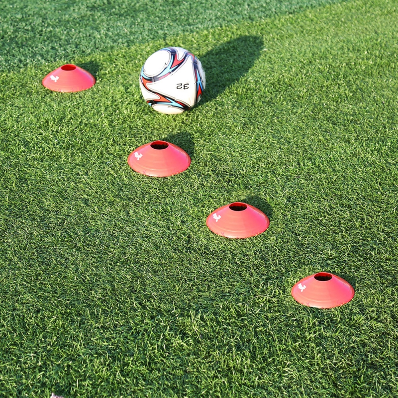 Outdoor Sports Training Useful Soccer Training Pile Soccer Ball Step Moving Traing Equipment Tools