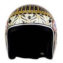 Harley helmet DOT Japan personality scoop half summer cap retro Indian decals
