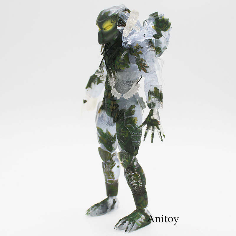 NECA  Predator 30th Anniversary Jungle Patrol Encounter Extraction Disguise Dutch Jungle Hunter Unmasked Demon Action Figure 1