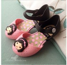 Summer new Brazilian children sandals girls princess shoes soft bottom jelly shoes small children hole hole shoes 2-5 years old