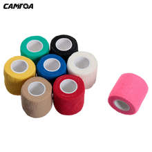 4 5m 5cm font b Fitness b font Weightlifting Self Adhesive Ankle Finger Muscles Care Elastic