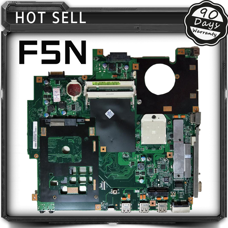 F5N Laptop Mainboard For ASUS X50N F5N Laptop motherboard Tested Well 90days Warranty top quality for hp laptop mainboard cq40 519099 001 laptop motherboard 100% tested 60 days warranty