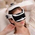 Calor infravermelho portátil olhos cabeça de massagem da pressão de ar Inteligente 2em1 olhos Cabeça cérebro facilmente massagem de pressão de ar Eletrônico