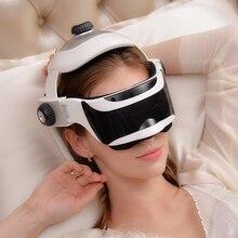 Portable infrared heat eyes Intelligent air pressure head massage 2in1 eyes Head air pressure Electronic brain easily massage
