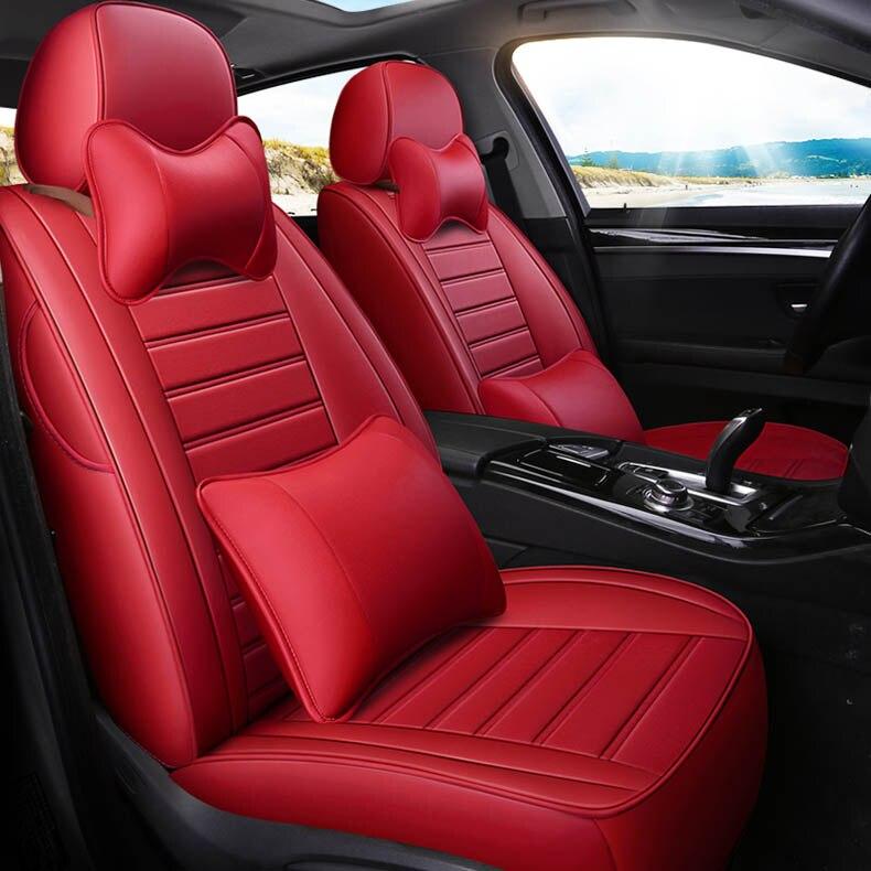 Personnalisé Couverture De Siège De Voiture Pour Mercedes Benz UN B C-Classe CLA CLK CLS ML GLA GLK GLE S E G Classe Berline accessoires car styling