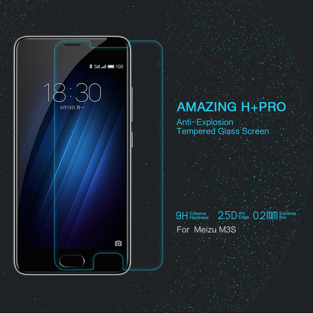 NILLKIN Amazing H+PRO Anti-Explosion Tempered <font><b>Glass</b></font> Screen Protector Film For <font><b>Meizu</b></font> <font><b>M3S</b></font>/Meilan 3S/<font><b>Meizu</b></font> <font><b>m3s</b></font> <font><b>mini</b></font> <font><b>Glass</b></font> Film image