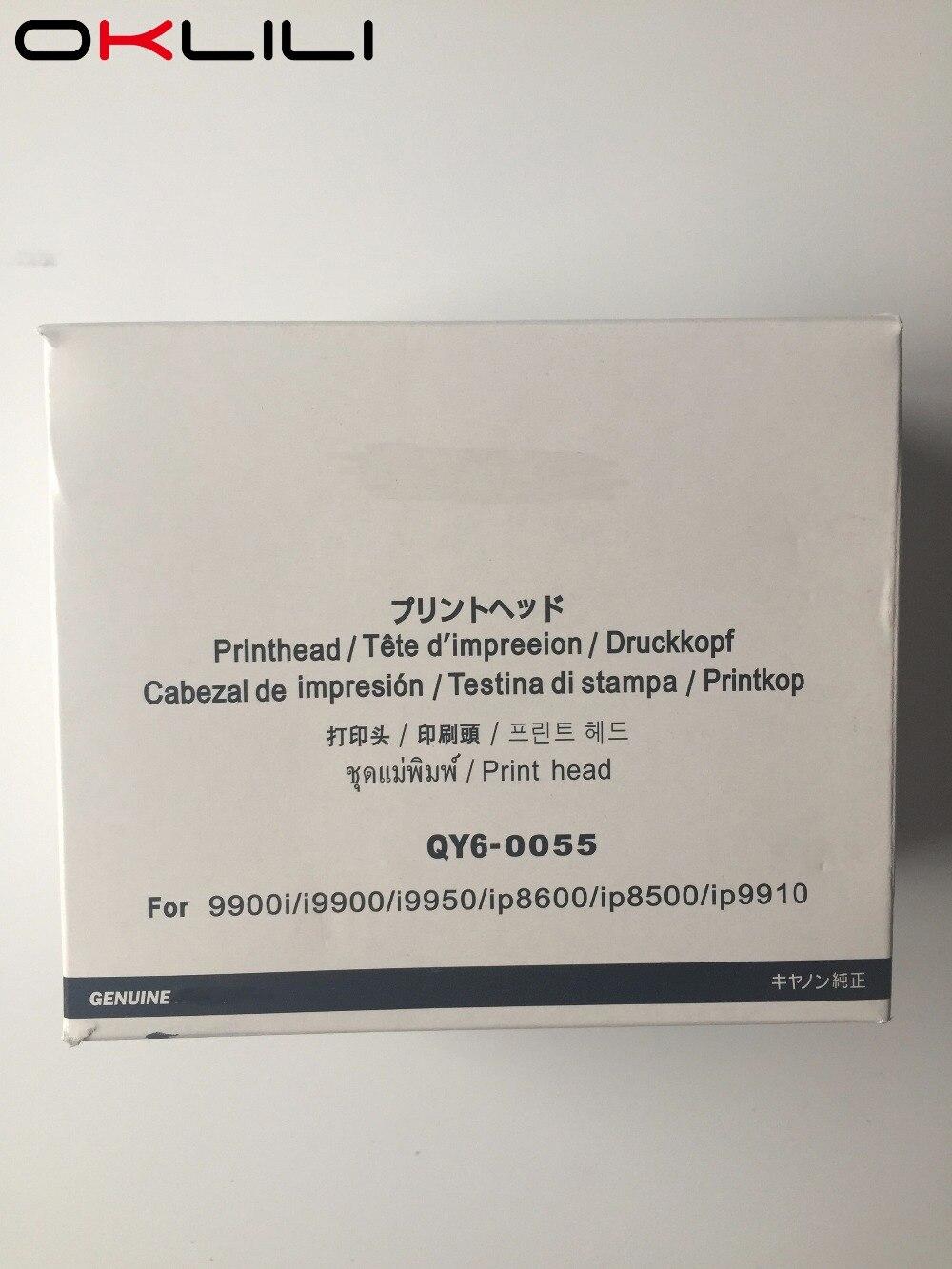 ORIGINAL QY6-0055 QY6-0055-000 Printhead Print Head Printer Head for Canon 9900i i9900 i9950 iP8600 iP8500 iP9100