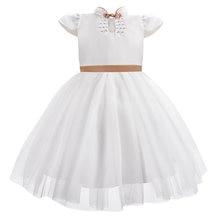 Новое Детское платье Ципао с воротником для девочек элегантное