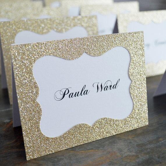 Us 3383 6 Offglitter Goldsilber Hochzeit Tisch Zahlen Ort Karte Escort Name Karten Für Hochzeit Party Dekoration Gold Geburtstag Party Event In
