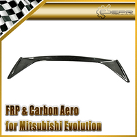 Car Styling For Mitsubishi Evolution EVO 7 8 9 VRS Carbon Rear Trunk Spoiler(Original spoiler needs to be moved)