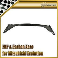 Car Styling dla Mitsubishi Evolution EVO 7 8 9 VRS Carbon tylny Spoiler bagażnika (oryginalny spoiler musi zostać przeniesiony) w Markizy i zadaszenia od Samochody i motocykle na