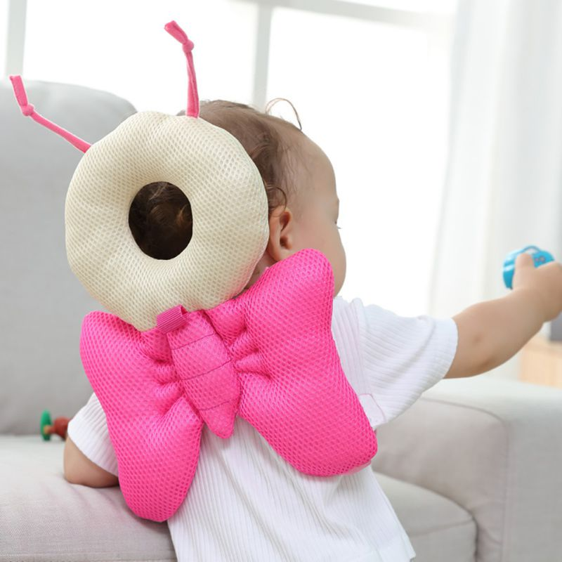 Baby Toddlers Cute Head Protective Adjustable Baby Safety Pads For Infant Walkers Head Back Protection