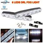2Pcs 6 LEDs Car Dayt...