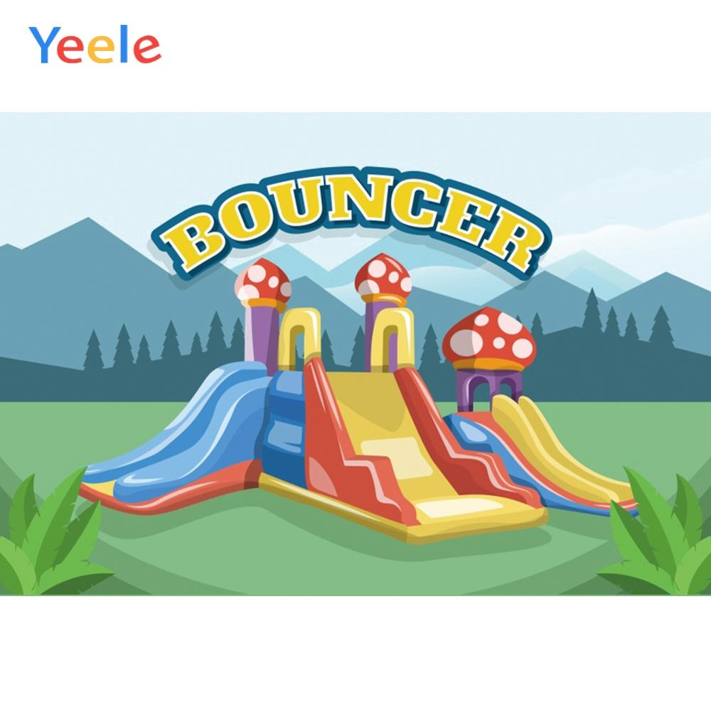 Yeele Wallpaper Photocall Playground Bouncer Poster Photography Backdrops Personalized Photographic Backgrounds For Photo Studio in Background from Consumer Electronics