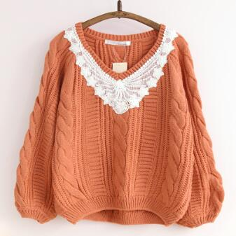 kimono harajuku vintage crochet embroidery jumper trui sudaderas boho chandail femme pull manche longue pullover lace up sweater
