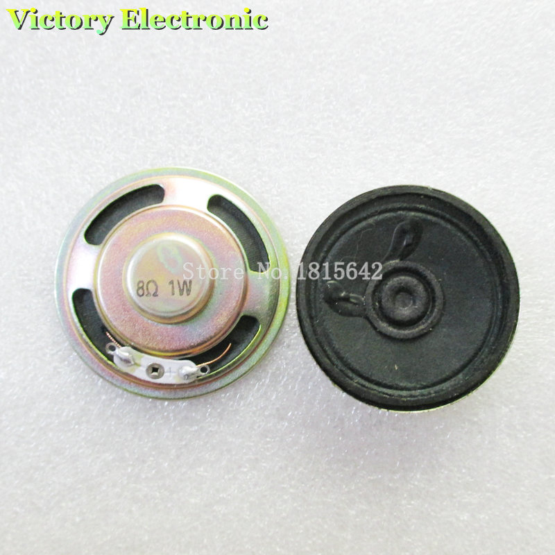 2PCS/Lot New Horn Diameter 5cm 50mm 8R 1W Loudspeaker Thickness 11mm 1.1cm Trumpet Wholesale Electronic