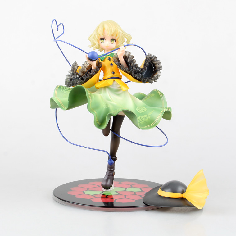 ФОТО Anime Figure 20 CM Touhou Project Komeiji Koishi 1/8 Scale Painted PVC Action Figure Collectible Model Toy