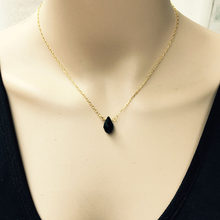 Collier de Style National coréen pour femmes, pendentif en perles noires, rétro, chaîne de clavicule, en gros, décorations