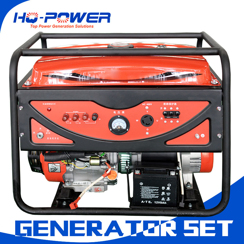 open frame engine 5kw gasoline generator small generador