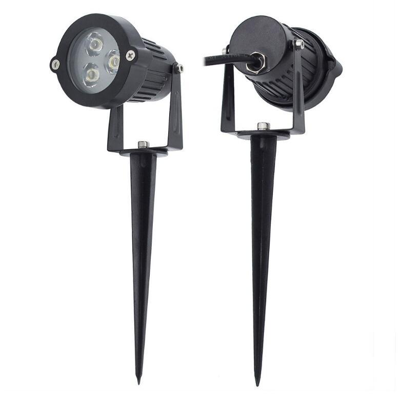 Wholeslae Outdoor Lighting LED Garden Light 3W 9W Lawn Lamp Waterproof 12V Landscape Bulb Warm Cold White Spike Spot Lights