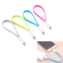 20cm Phone Magnetic Cable For Samsung Huawei Xiaomi LG Android Tablet Micro USB Cable Charging Sync Data Cord Flat Noodle Cables