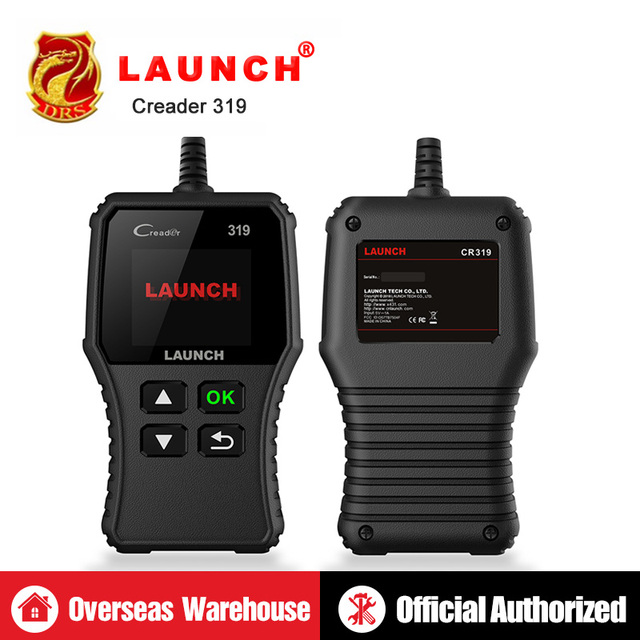 LAUNCH X431 Creader 319 CR319 전체 OBD2 OBDII 코드 리더 스캔 도구 OBD 2 자동차 진단 도구 PK AD310 ELM327 CR3001 스캐너
