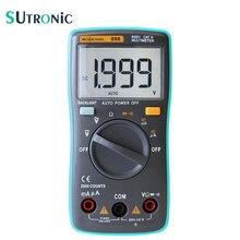 RM098 Auto Range Digital Multimeter Large Screen Backlight Buzzer Protection AC DC Ammeter Voltmeter Ohm Portable 2000 counts