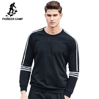 Pioneer Camp brand-clothing 2017 New Spring sweatshirt men fashion hoodies men top quality casual tracksuit for men AWY702019