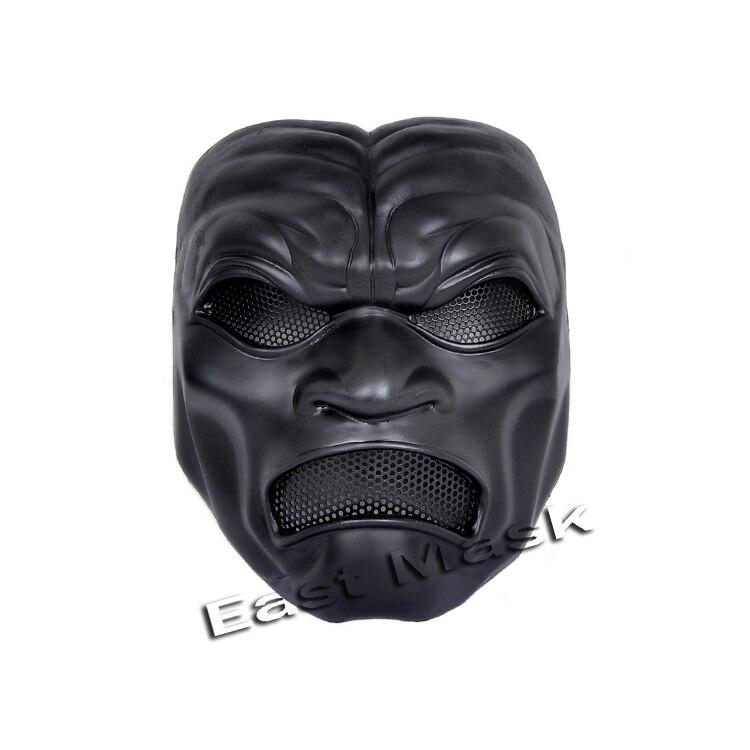 Halloween masquerade mask 300 fiberglass immortal CS field protective mask face mask