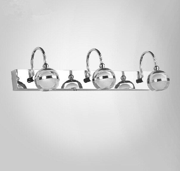 led bathroom mirror cabinet bathroom mirror bathroom waterproof front fog lights, material: stainless steel / acrylic, AC220Vled bathroom mirror cabinet bathroom mirror bathroom waterproof front fog lights, material: stainless steel / acrylic, AC220V