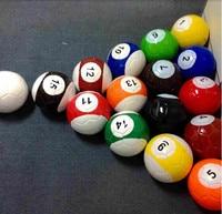 2# 3# 4# 5# 16 Pieces A Lot Snook Soccer ball,Billiard ball,Snooker Football for Snookball game