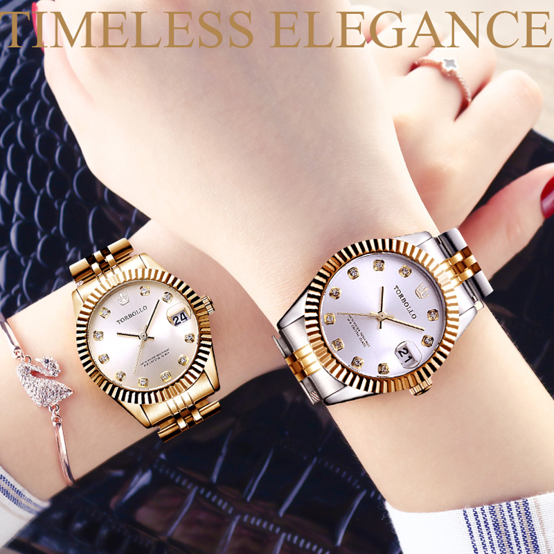 Women's Watch Top Brand Women Watches Luxury Japan Movt Crystal Female Wrist Clock Water Resistant With Original Box