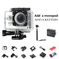 ESTILO 720 P HD Câmera de Ação SJ4000 Cam para go pro Esporte Câmera de vídeo kamera mini câmera Esporte DV Adicionar 1 pcs bateria + monopé