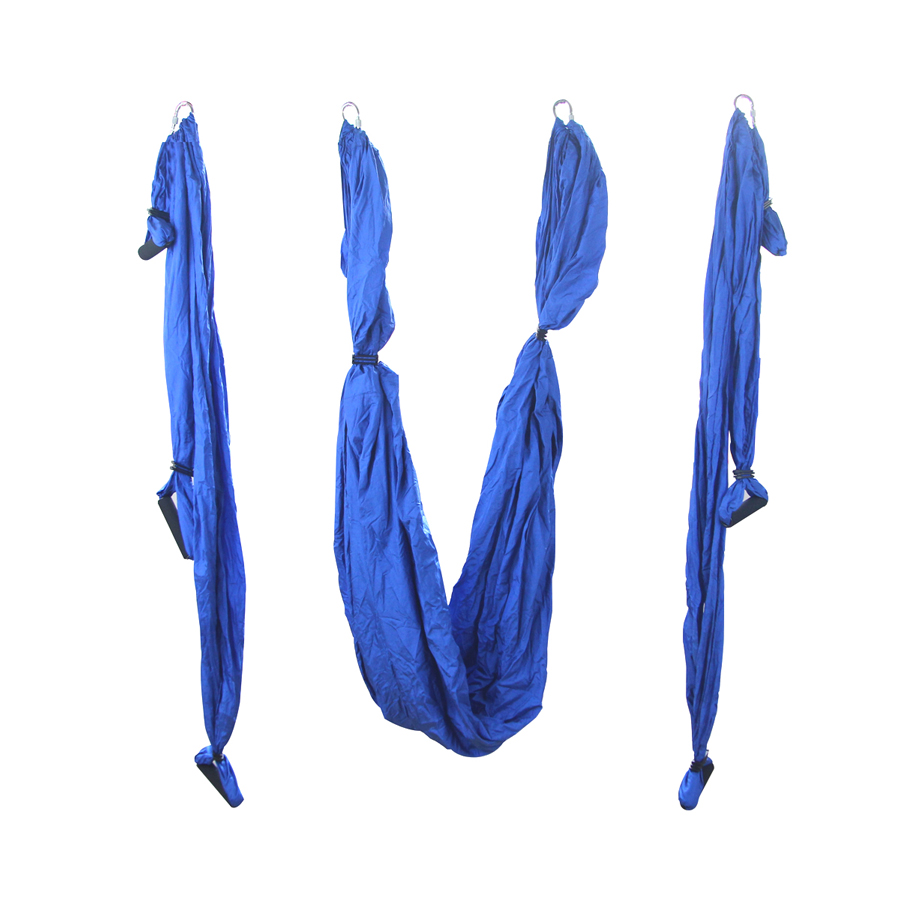 1 Piece Blue Air Flying Yoga Hammock Aerial Yoga Hammock Belt Fitness Swing Hammock 2.5mx1.5m vision fitness apollo ultralite синий агат agate blue