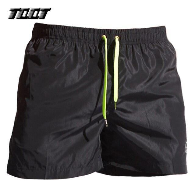 TQQT mens board shorts low waist beach shorts elastic waist quick dry swimwear plus size men trunks 6 colors 5P0462