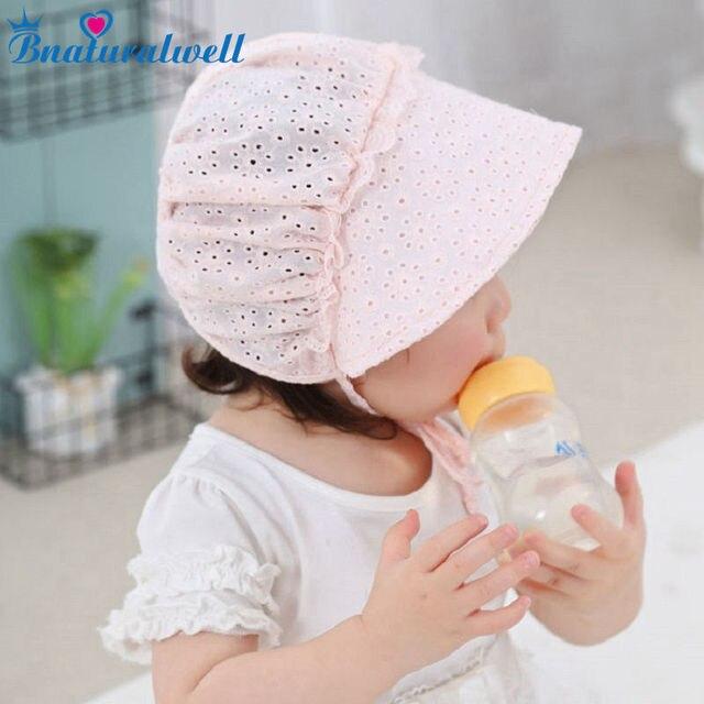 Bnaturalwell Baby Mädchen Motorhaube Retro Baumwolle Beanie Hut ...