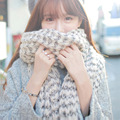 New Style Brand Soft Ladies Scarves 2016 Winter Fashion Style Knitting Wool Warmer Couple Scarf Women