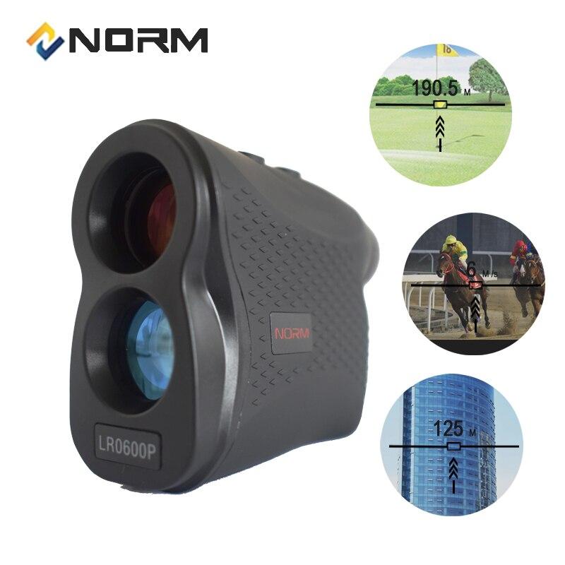 Norma Laser Rangefinder 600 M 900 M 1200 M 1500 M Laser Medidor de Distância para o Esporte de Golfe, Caça, pesquisa