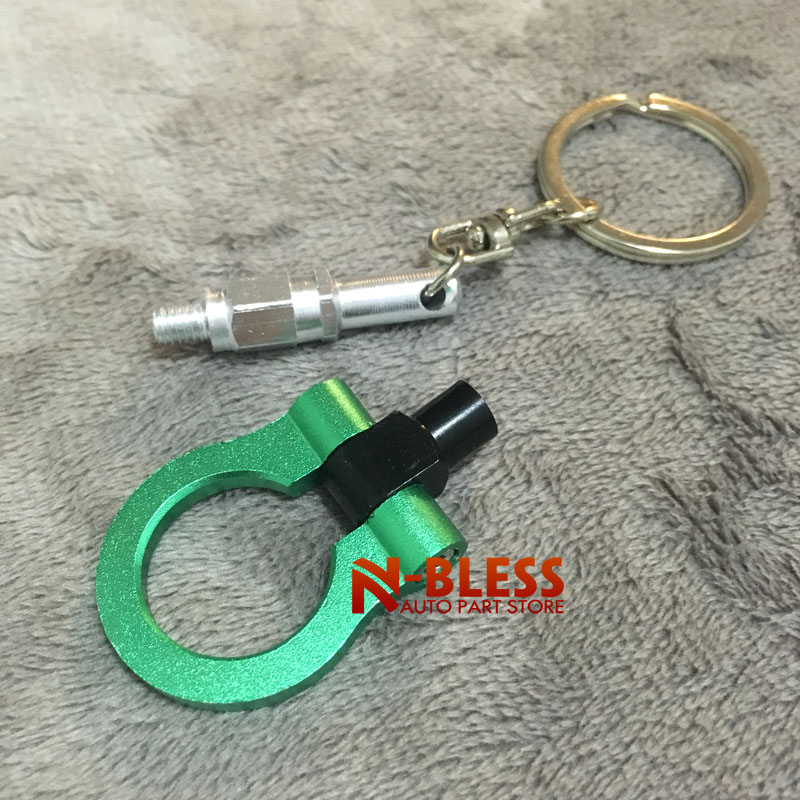 Trailer Towing Hook Keychain Keyring Auto Part Model Key Chain Ring Accessories