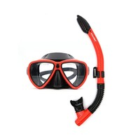 Underwater Equipment Diving Mask Snorkel Set Silicone Full Dry Swimming Snorkeling Anti Fog Diving Glasses Tube Goggles