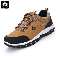 38 47 Spring Autumn Men Casual Shoes Breathable Men Shoes Plus Size PU Leather Upper Durable