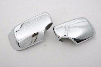 Высокое качество хромированная боковина зеркала для BMW E46 Бесплатная доставка >> Globemart Store