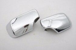 Wysokiej jakości chromowany stylizacja osłona na lusterko boczne do BMW E46 darmowa wysyłka