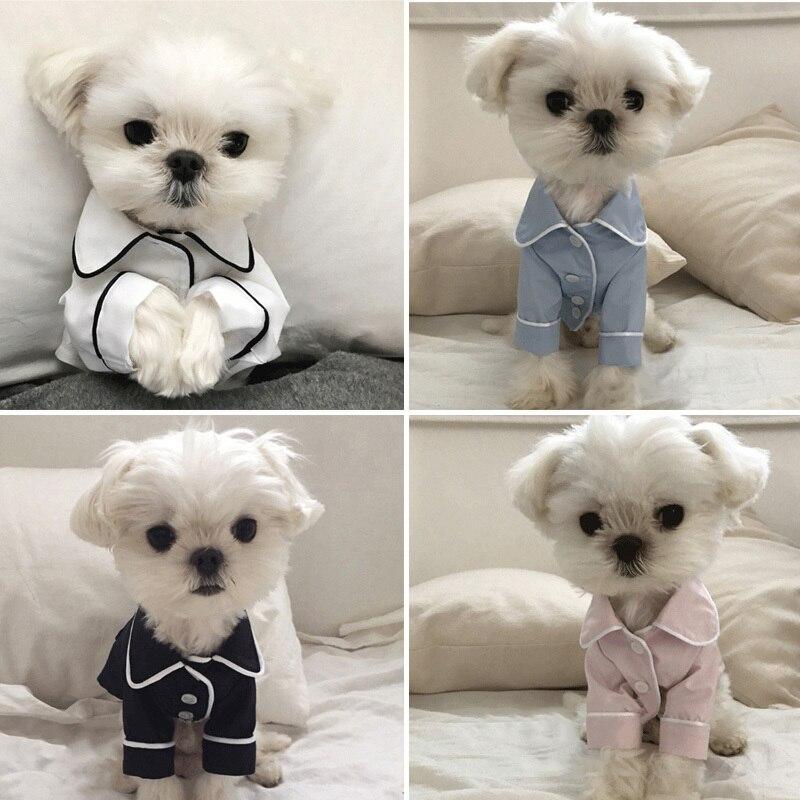 Vêtements de luxe pour chien mode chien pyjamas Pet vêtements pour petits chiens moyens vêtements manteau Yorkies Chihuahua Bulldogs veste 20D